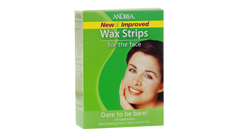 Andrea Wax Strips for the Face - 20 Applications